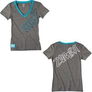 "Zumba ""United We Dance"" Athletic Top"